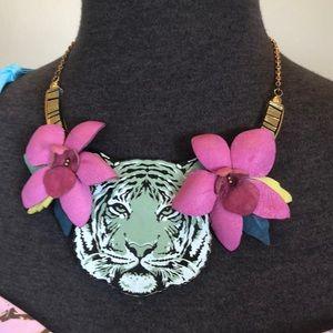 Rosita Bonita Tiger Floral Necklace